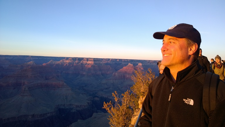 Picture of Andrew Player at Grand Canyon